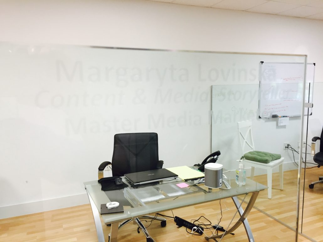 Margaryta's Office