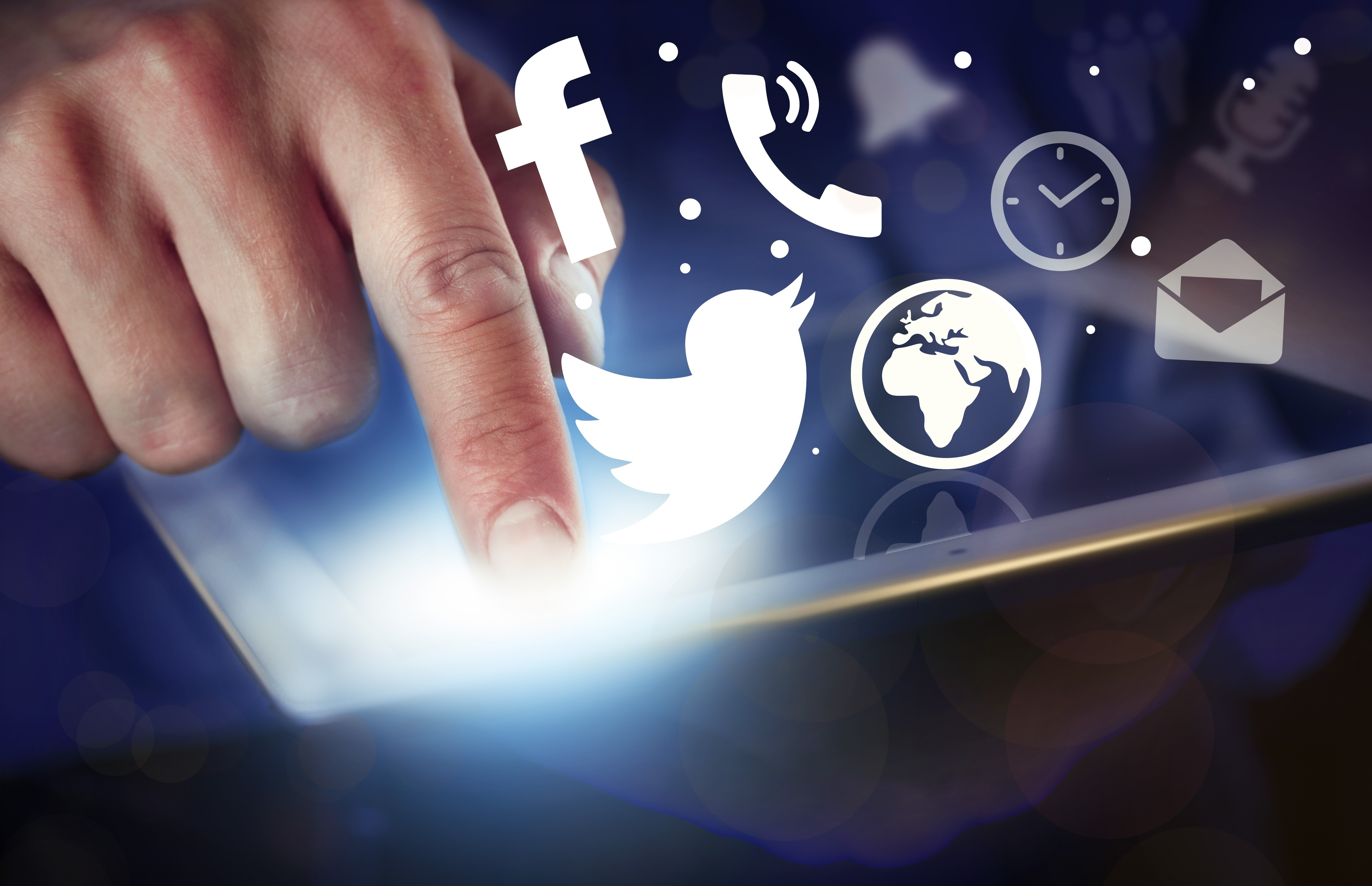 social media strategy for linen and uniform companies