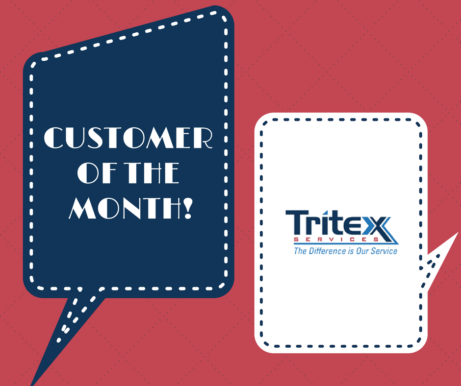 tritex customer of the month