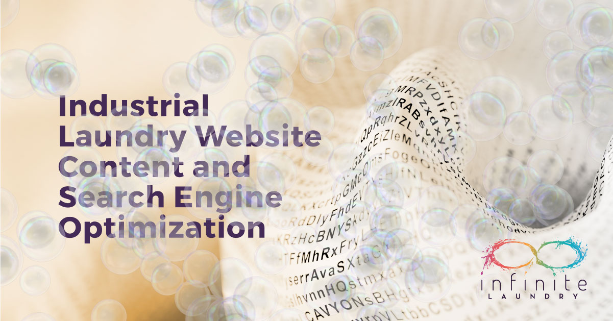 industrial laundry website content seo